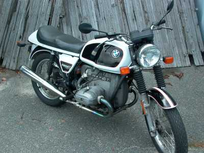 1978 BMW R60/7 motorcycle